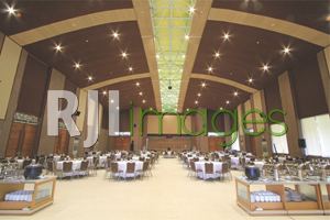 Ballroom dengan arsitektur nan megah