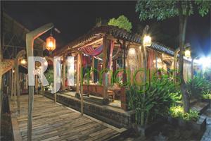 Bangunan Jawa sebagai area lobby