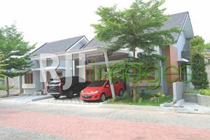 Deretan rumah tipe 75-hook, Pondok Permai Kartasura