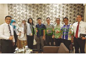 Direktur Konsumer BRI beserta jajarannya dan Pimpinan DPD REI DIY