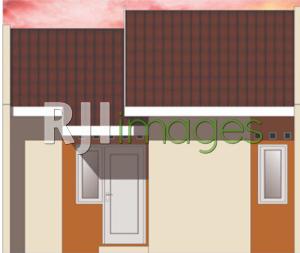 Draft perspektif rumah murah subsidi tipe 27, Grhatama Hills