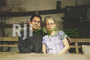 Eko Prawoto bersama istri