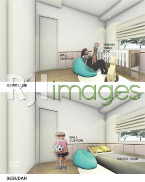 Gambar Perubahan Furniture Kamar Anak