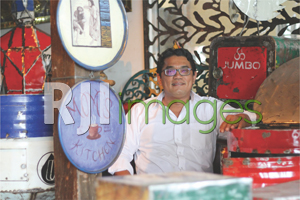 James Silalahi, Owner T Vintage and Recycle Iron