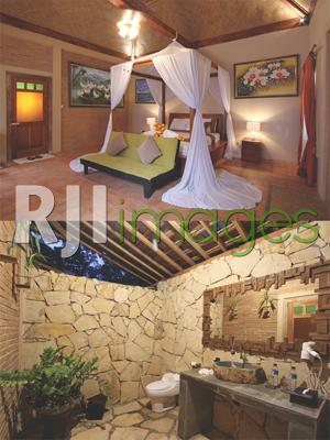 Kamar tidur utama dan Bathroom