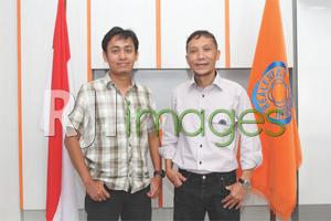 Ketua & Sekretaris DPD REI DIY,  Rama A. Pradipta & Ilham M. Nur