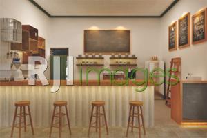 Konsep Rustic pada Dapur atau Mini bar