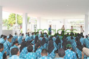 Kunjungan Industri SMK N 6 Malang ke Green Kuantan Residence #2