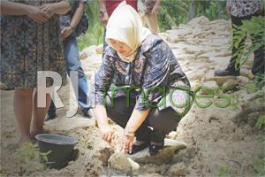 Launching & Peletakan Batu Pertama Perumahan Nawa Village Bangunjiwo#1