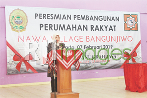 Launching & Peletakan Batu Pertama Perumahan Nawa Village Bangunjiwo#3