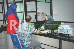 Loket pelayanan dispensasi IMB di Kabupaten Sleman