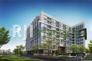 Perspektif kawasan Apartemen Dhika Universe Yogyakarta Sardjito