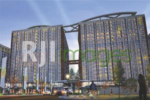 Perspektif superblock Jogja Landmark