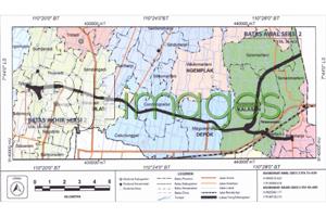 Peta Lokasi Rencana Pembangunan, Jalan Tol Jogja - Solo di DIY