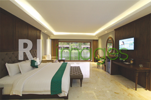 President Suite Room dengan king size bed