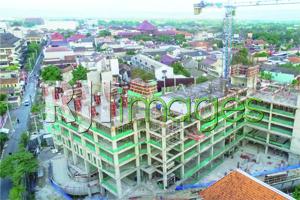 Progress pembangunan Tower Cornell, Barsa City Yogyakarta, target topping off Ok