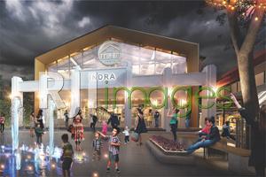 Rancangan Kawasan Pusat Belanja ex Bioskop Indra#1