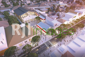 Rancangan Kawasan Pusat Belanja ex Bioskop Indra#2