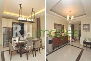 Ruang makan berdampingan dengan dapur dan Ruang aktivitas lantai atas