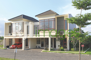 Rumah contoh tipe New Jasmine, Laguna Spring Resort