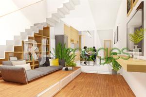 Suasana Ruang Komunal (Keterhubungan antara Ruang Keluarga, Ruang makan dan Dapu