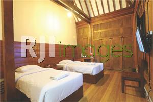 Superior room dengan twin bed