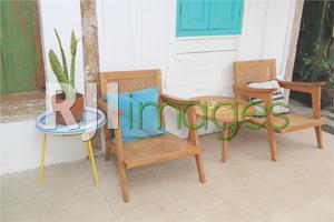 Table set kayu klasik
