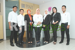 Tim marketing BNI Griya KCP UGM