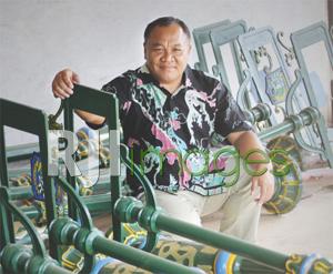 Ornamen Klasik olahan Cor Logam Widodo Jaya