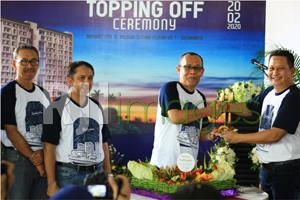 Yudhistira Tower Topping Off Ceremony@MATARAM CITY#2