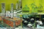 Aneka hiasan hasil karya Rudjito glass and craft