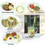 Aneka menu Jiwangga Resto