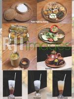 Aneka menu hidangan Waroeng Teduh