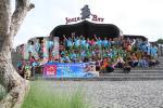 Family Gathering karyawan Merapi Arsita Graha di Jogja Bay
