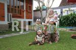 Happy Ayunita Maiyardani (Owner) beserta Putra Putri Kembarnya