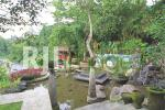 Konsep area Taman Sari dengan unsur air mendominasi