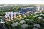 Perspektif Barsa City, kawasan mixed used Apartment, Shophouse, dan Shopping Gal