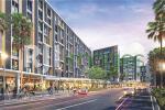 Perspektif kawasan mixed use Barsa City