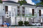Perspektif kawasan rumah tipe 60 Heritage Premium