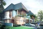 Perspektif rumah tipe 115-hook, Pondok Permai Palagan 3