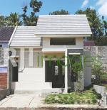 Progress pembangunan hunian tipe 40 Villa Argomulyo