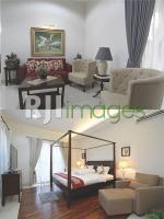 Ruang tamu dan Kamar tidur utama Bungalow Natura Rumah Singgah