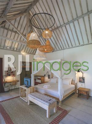Dekorasi kamar Sun Room bernuansa bohemian