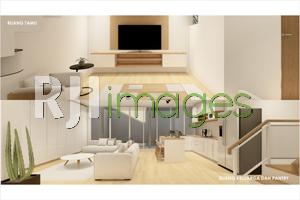 Renovasi Rumah Tinggal Konsep 1 Lantai Menjadi 2 Lantai#2