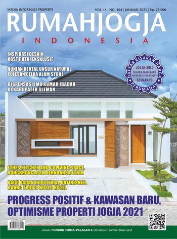 Rumah Jogja Indonesia edisi Januari 2021