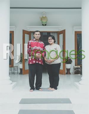 Supriyanto bersama Istri